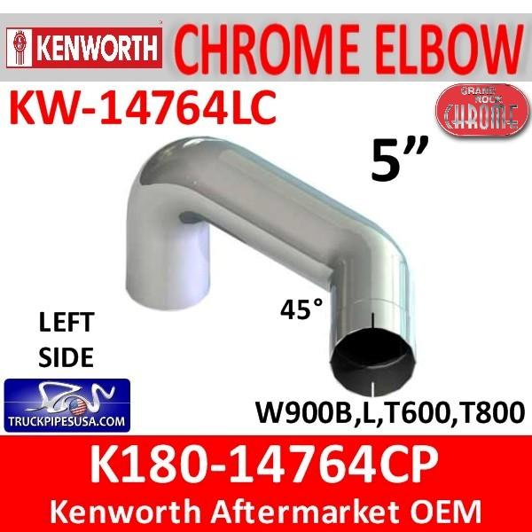 K180-14764CP Kenworth Chrome 5