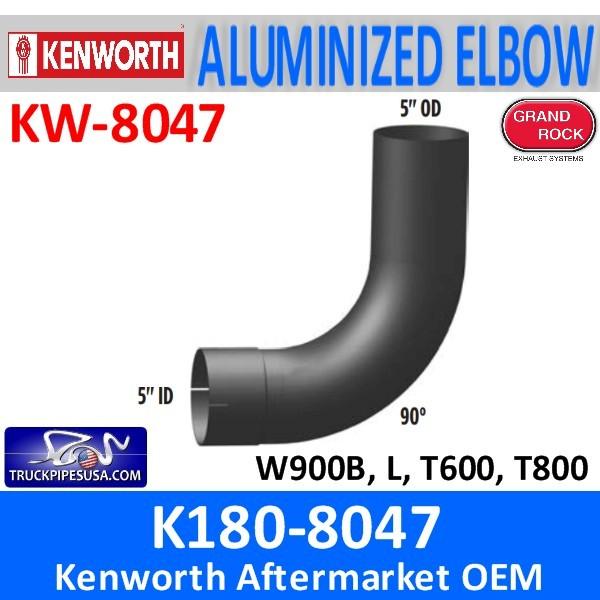 K180-8047 Kenworth Exhaust 5