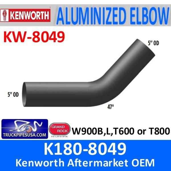 K180-8049 Kenworth Exhaust 5