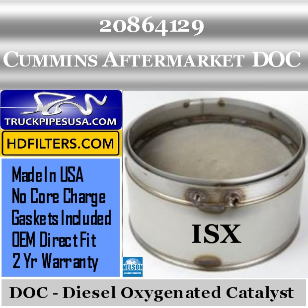 20864129 Cummins ISX Engine Diesel Oxygen Catalyst DOC
