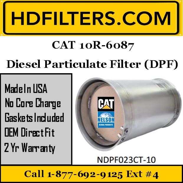 10R-6087 CAT C7/C9 Diesel Particulate Filter