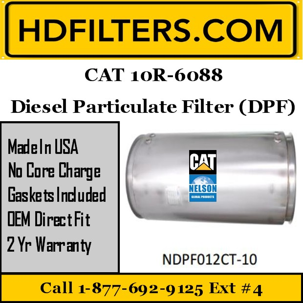 10R-6088 CAT C13/C15 DPF Diesel Particulate Filter