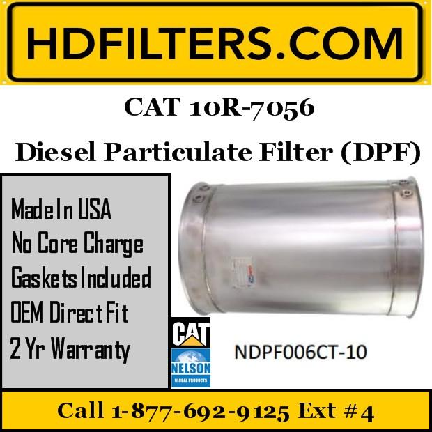 10R-7056 CAT C9/C13 DPF Diesel Particulate Filter