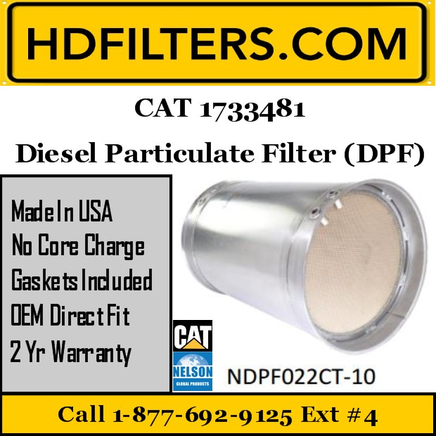 1733481 CAT C13/C15 DPF Diesel Particulate Filter