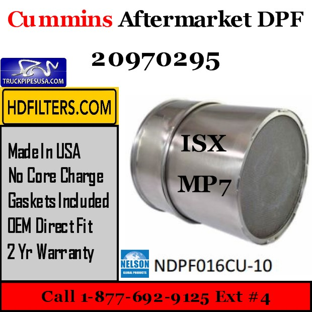20970295 Cummins-Volvo-Mack ISX/MP7 Engine Diesel Particulate Filter DPF