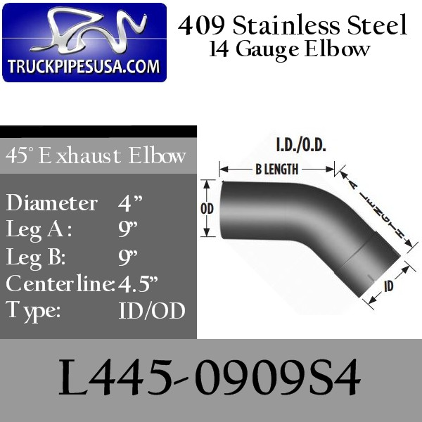 l445-0909s4-45-degree-409-stainless-steel-exhaust-elbow-4-inch-round-tube-9-inch-legs-id-od-tubing-for-big-rig-trucks.jpg