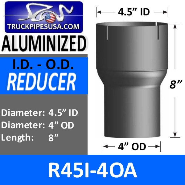 r45i-4oa-exhaust-reducer-id-to-od-aluminized-exhaust-4-5-inch-id-to4-inch-od-8-inches-long.jpg