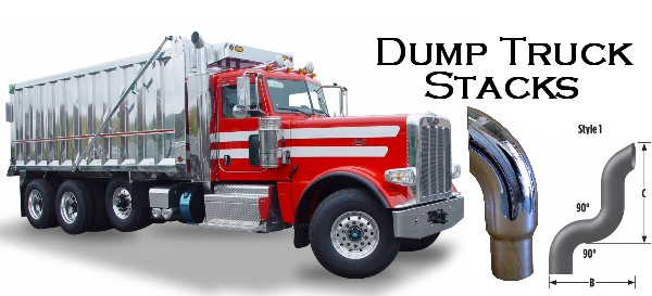 Dump Truck Stack pipes